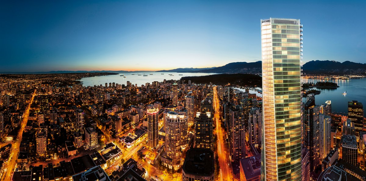 The Trump International Hotel & Tower Vancouver .