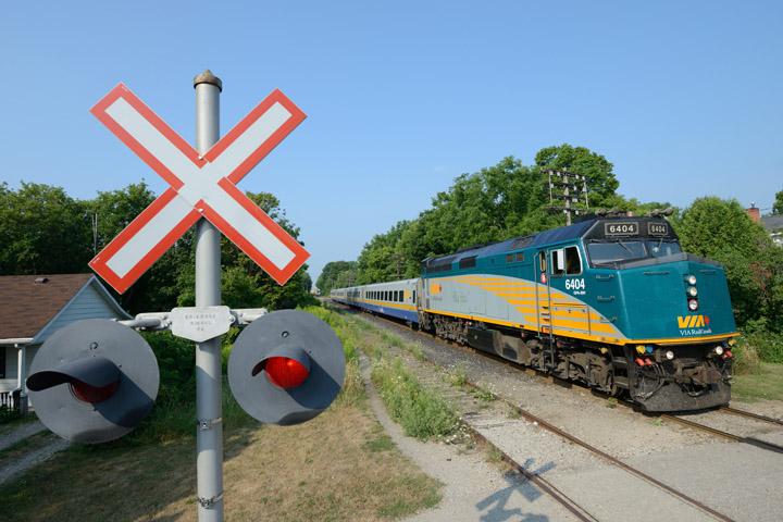 Railway crossing safety
