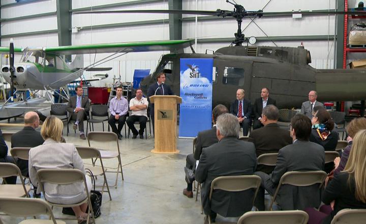 Boeing invests in aircraft maintenance engineer training program in Saskatoon.