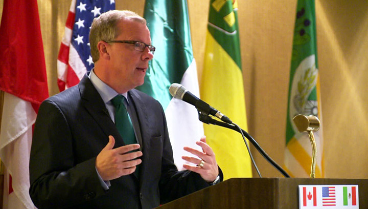 Saskatchewan Premier Brad Wall says Ottawa is increasing the number of people allowed to move to the province under the immigrant nominee program.
