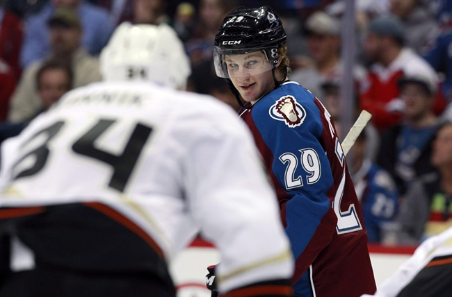 Colorado Avalanche star Nathan MacKinnon is among the favourites to win the Hart Trophy as NHL MVP.