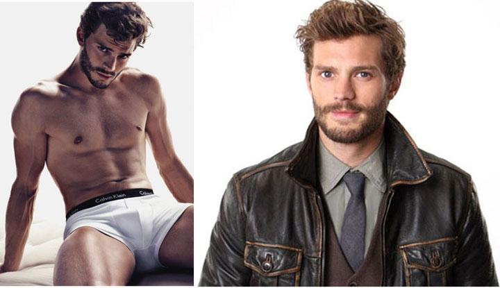 Former Calvin Klein underwear model Jamie Dornan plays Christian Grey.