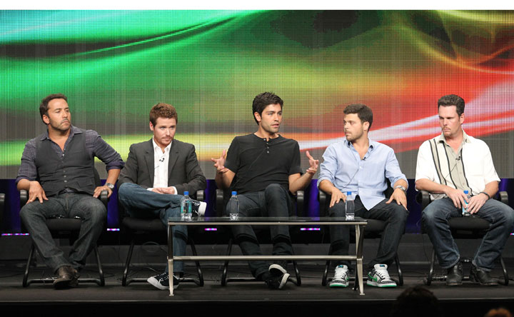 Cast members of 'Entourage,' pictured in July 2011.