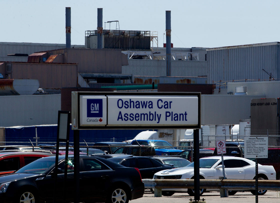GM announced plans on Thursday to keep one of its two auto assembly plants in Oshawa, Ont. -- Canada's Motor City -- open for two years longer than originally planned.