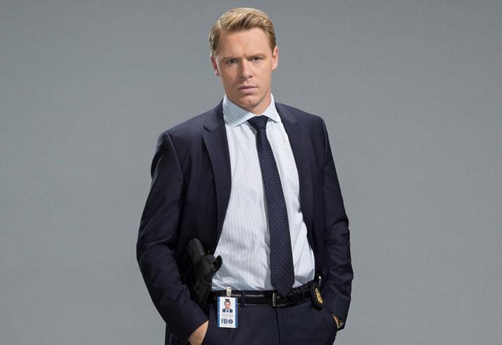 """Diego Klattenhoff of Nova Scotia plays an FBI agent in """"The Blacklist.""""."""