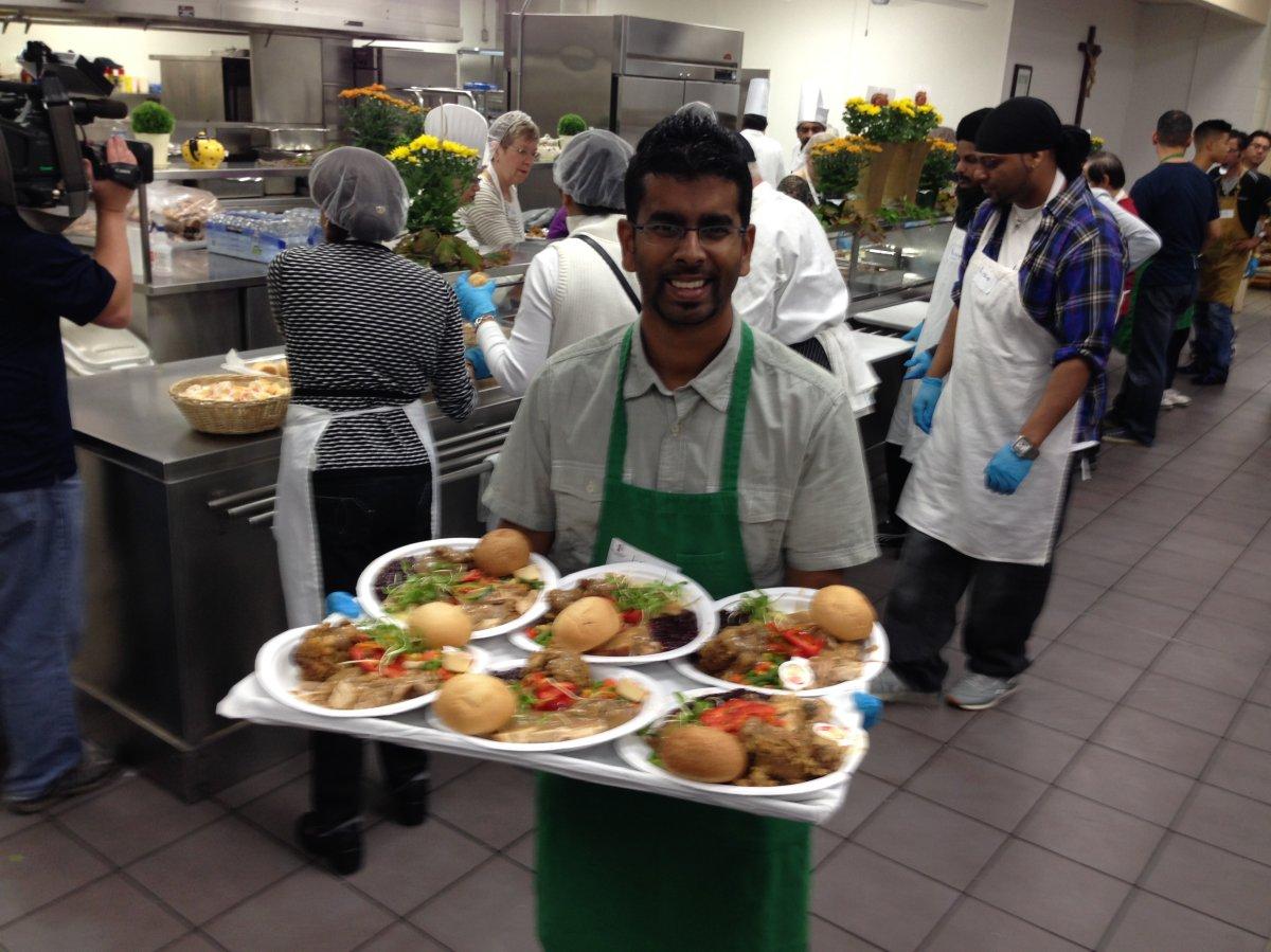 Good Shepherd Thanksgiving Homeless Meal