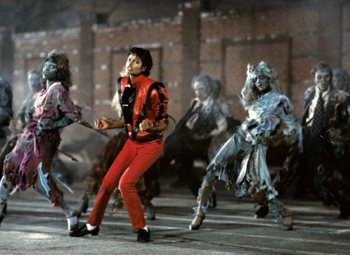 Michael Jackson's 'Thriller' is a Halloween favourite.