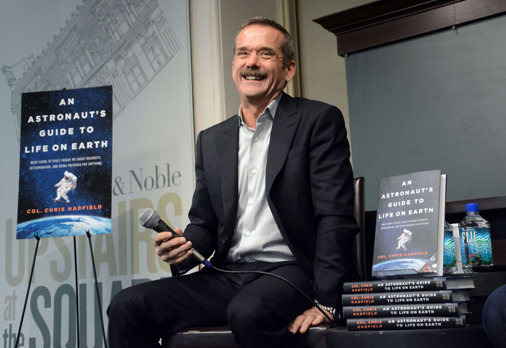 Leave it to Chris Hadfield to remind us that 2016 wasn't all about bad news.