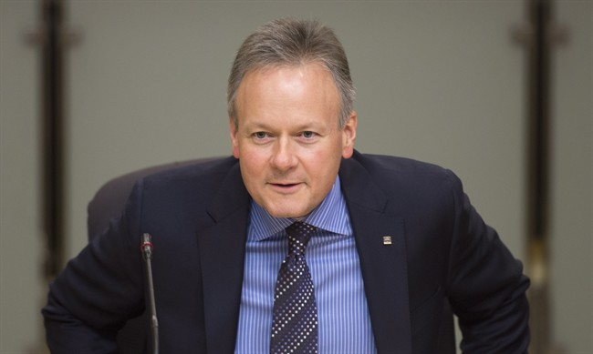 Governor of the Bank of Canada, Stephen Poloz, waits to appear before the Senate Standing Committee on Banking, Trade and Commerce Wednesday Nov. 20, 2013 in Ottawa. THE CANADIAN PRESS/Adrian Wyld.