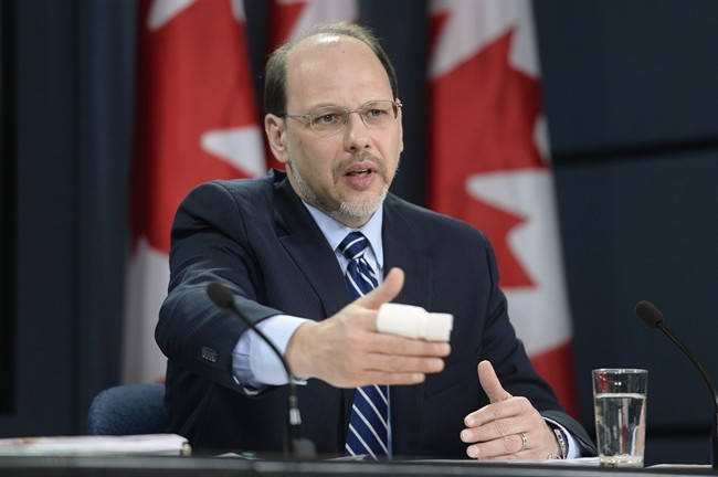 Correctional Investigator of Canada Howard Sapers speaks during a news conference to highlight areas of concern documented in the 2012-13 Annual Report of the Office of the Correctional Investigator Tuesday November 26, 2013 in Ottawa.