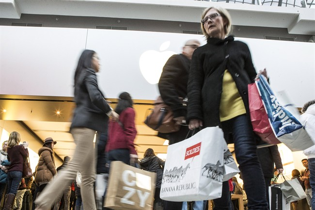 Excluding trade figures that were skewed due to a one-time event, consumer shopping was, once again, the main driver of economic growth in Canada.