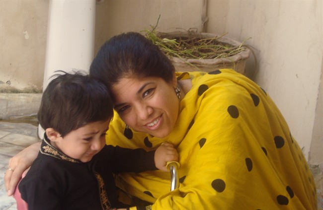 Waheeda Afridi feels only anger and frustration over a bureaucracy that she says has abandoned her and her adopted son overseas.