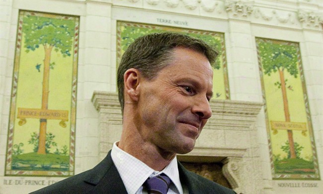 Nigel Wright appears as a witness at the Standing Committee on Access to Information, Privacy and Ethics on Parliament Hill in Ottawa on Nov. 2, 2010.