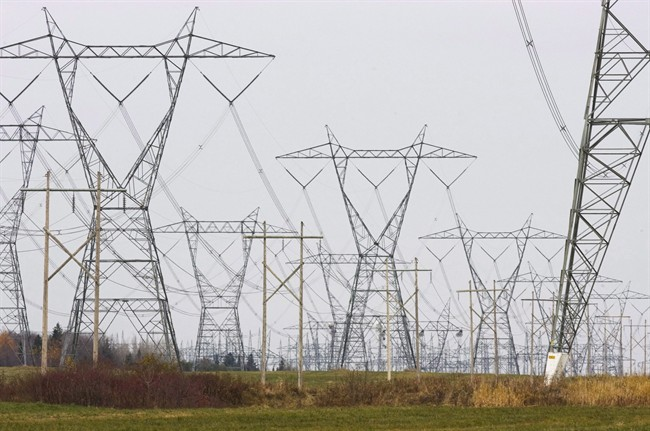 Hydro-Quebec power lines