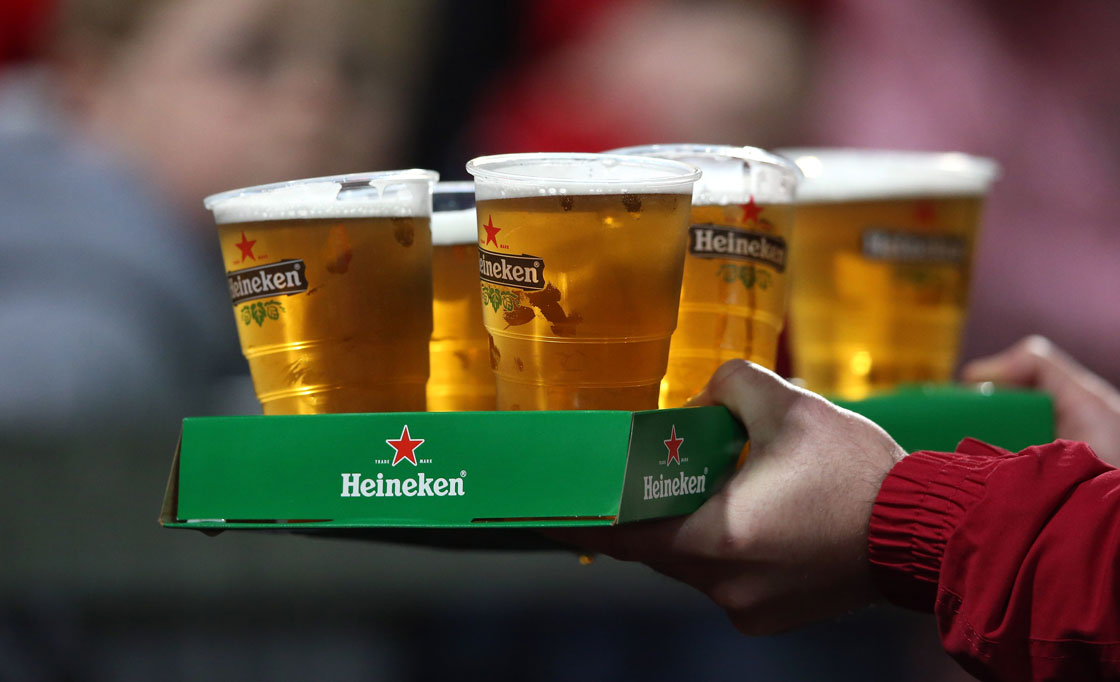 Foreign beer sales have climbed sharply over the last decade.