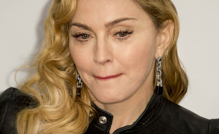 Madonna, pictured in October 2013.