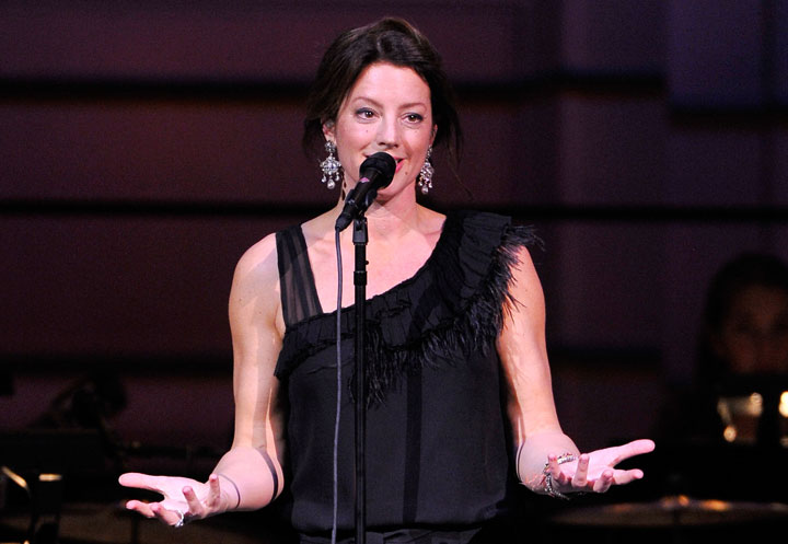 Sarah McLachlan, pictured in November 2012, will perform in Calgary on Dec. 7.