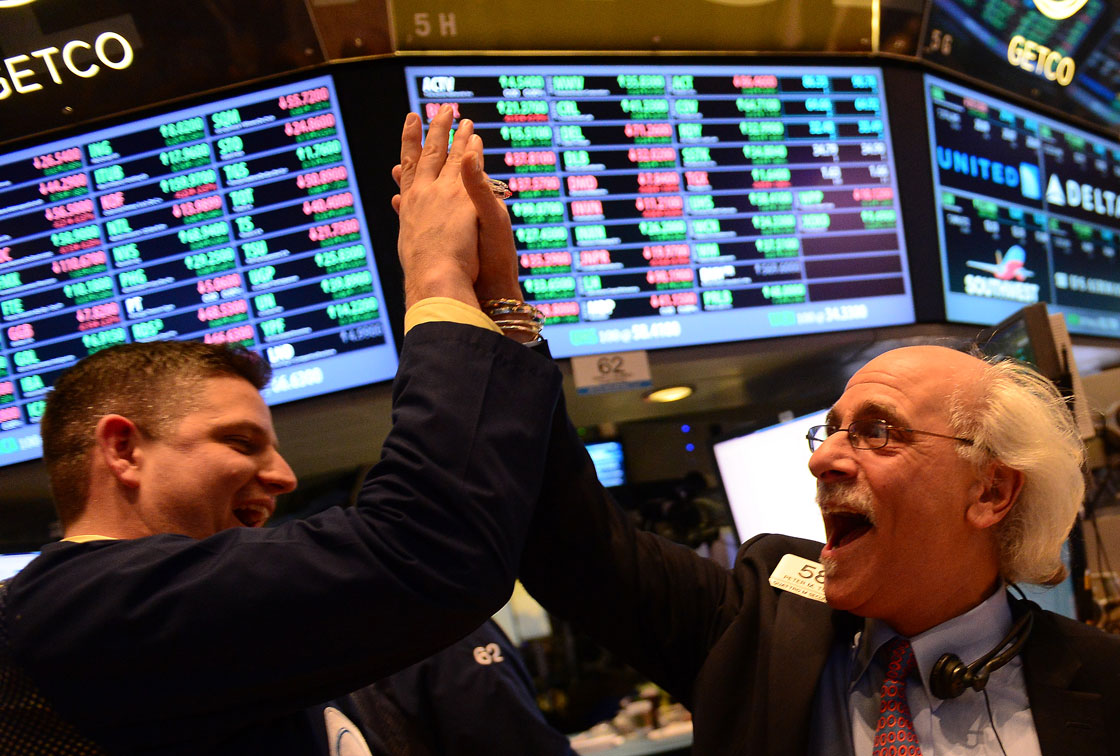 Traders celebrate fresh highs gained on U.S. stock markets. Some are warning however a fresh bubble lurks.