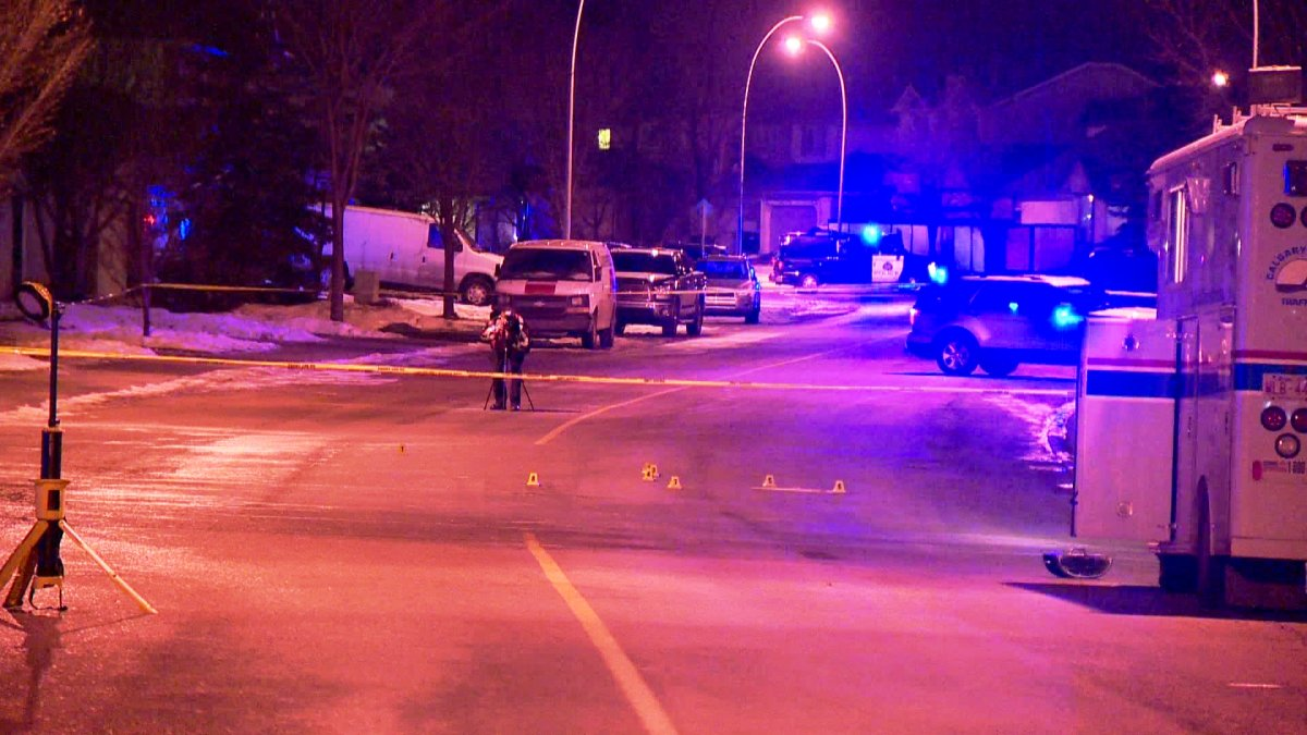 Police investigate after a 13-year-old was struck by a vehicle on Hidden Valley Drive N.W.