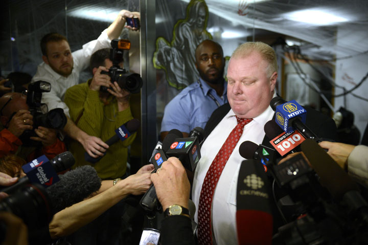 Rob Ford admits to smoking crack cocaine.