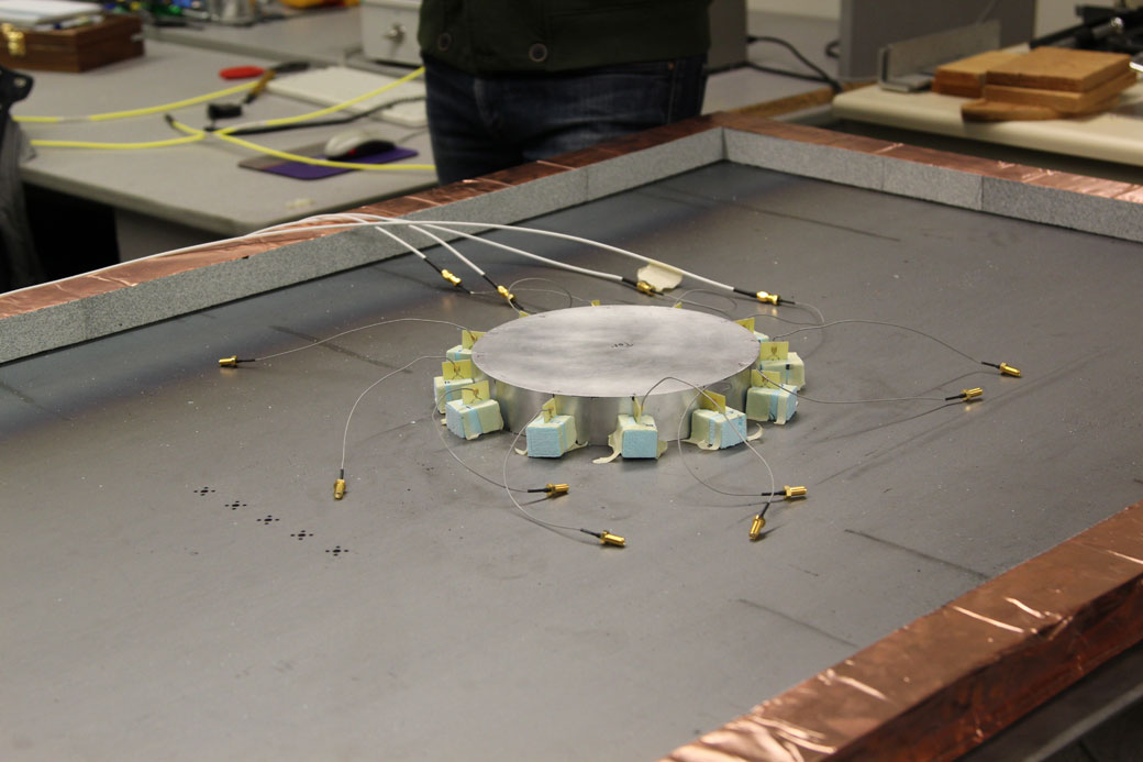 University of Toronto researchers have developed a method of cloaking objects from radar. Here, antennas are attached to an object to scatter radio waves, thereby hiding it from radar.