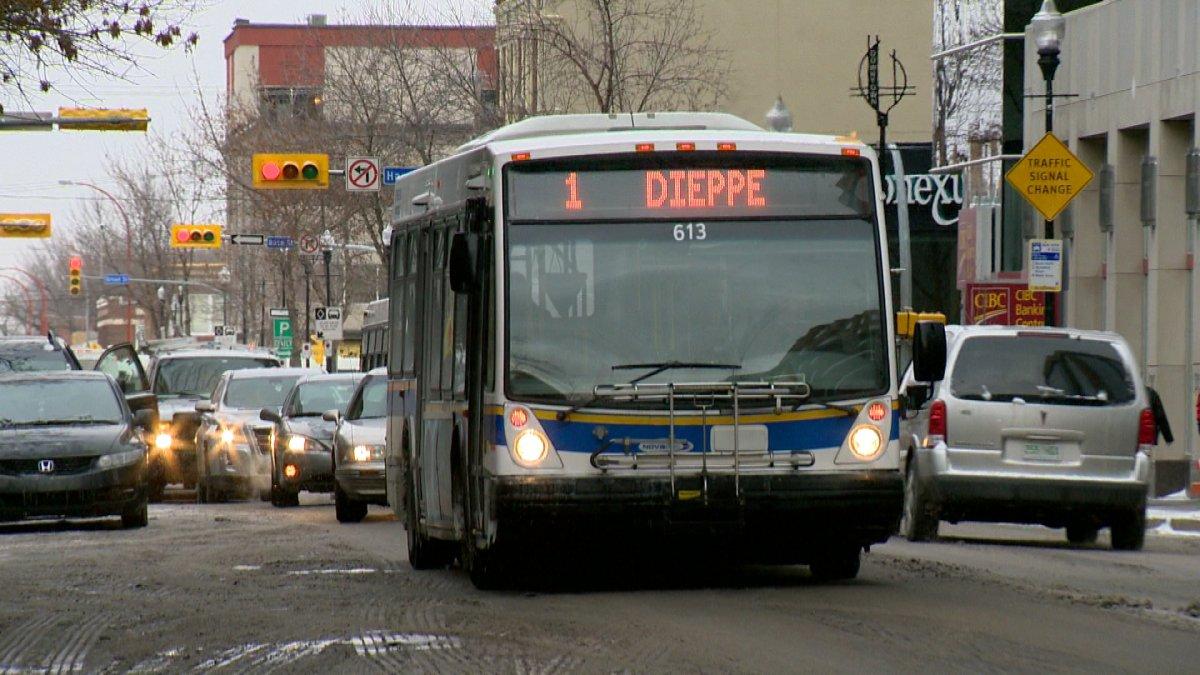 A Regina Transit Bus .