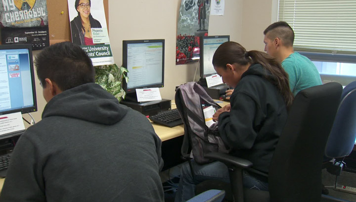 Aboriginal enrollment increases nearly 30 per cent at the University of Saskatchewan in 2013.