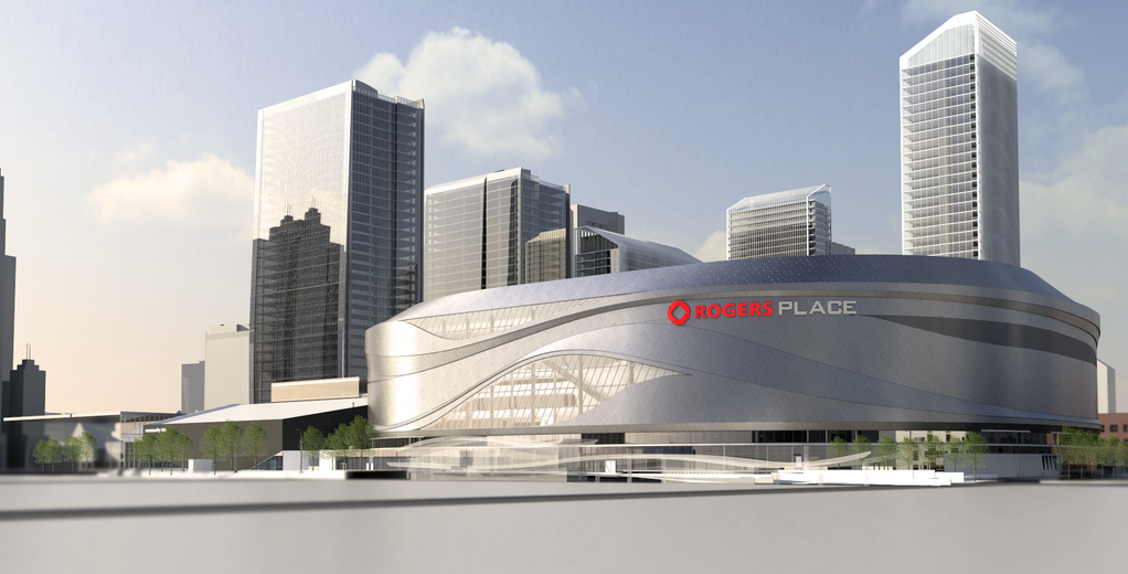 Edmonton's new downtown arena will be called Rogers Place.