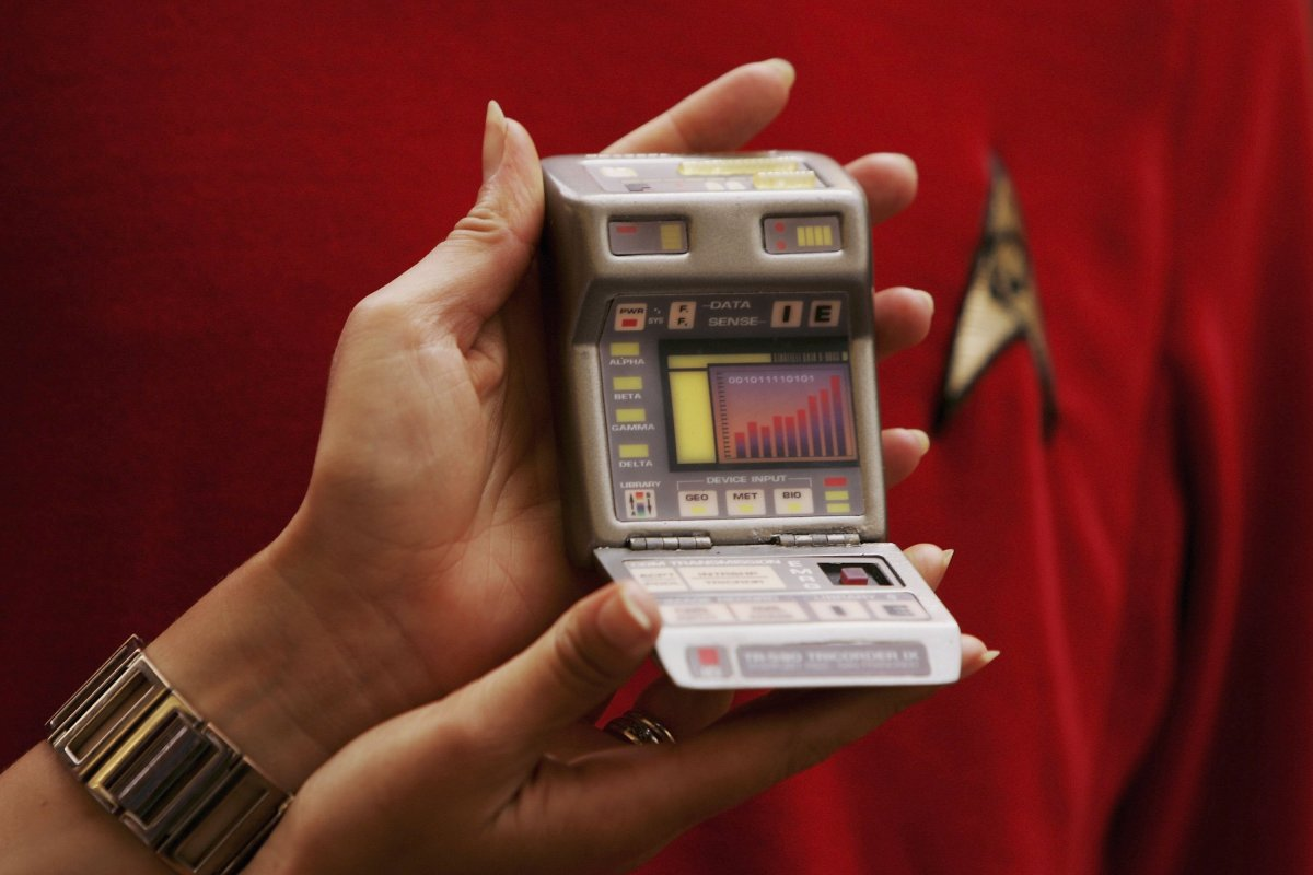 "Leventhal's device, named after the fictional Dr. Leonard McCoy of TV's Star Trek series, purportedly delivers instantaneous and detailed patient data, similar to Star Trek's fictitious ""Tricorder""."