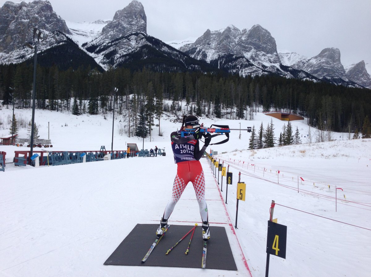 Rosanna Crawford in Canmore.