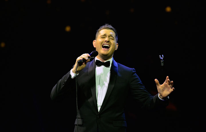 Michael Buble, pictured in September 2013.