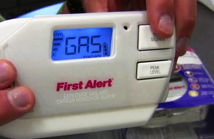 File/ A carbon monoxide detector.