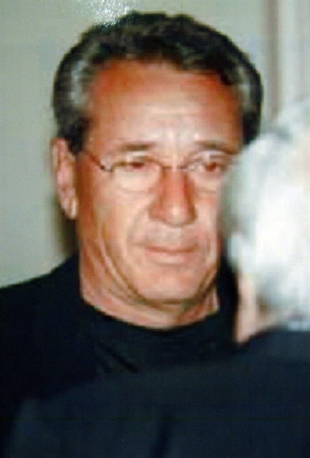 This handout photo released in Rome by Italian police in 2005, shows the Vito Rizzuto.