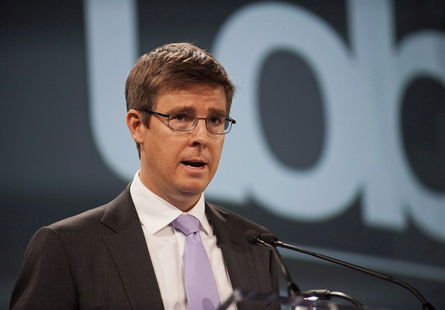 Loblaw Co. Ltd. chairman Galen Weston Jr. speaks before the company's annual meeting in Toronto on Thursday May 2, 2013.