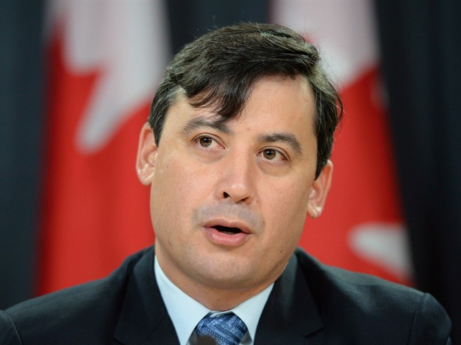 Conservative MP Michael Chong addresses a press conference in Ottawa on Tuesday December 3, 2013.