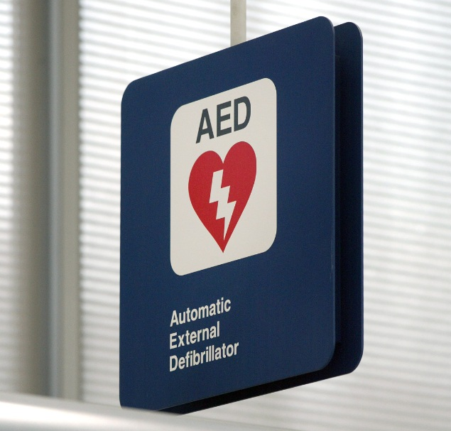 A defibrillator will be installed at each metro station in the city over the next five weeks.