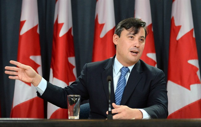 Conservative MP Michael Chong in Ottawa on Tuesday, December 3, 2013.
