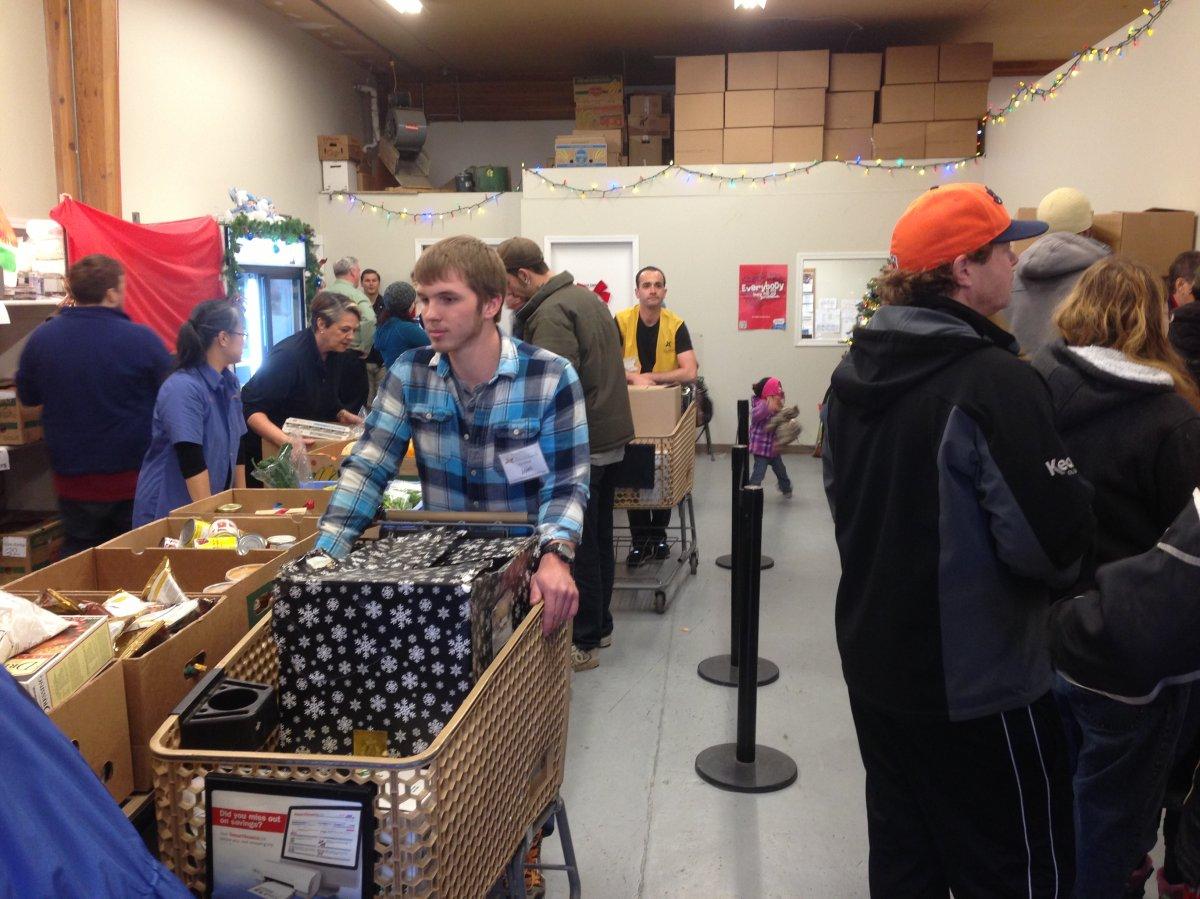 Family Day at the Kelowna Food Bank.