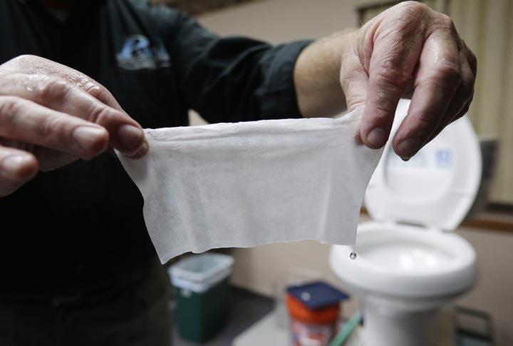 The pleas of Canadian waste-water officials to federal and provincial politicians for a crackdown on so-called flushable wipes are falling on deaf ears.