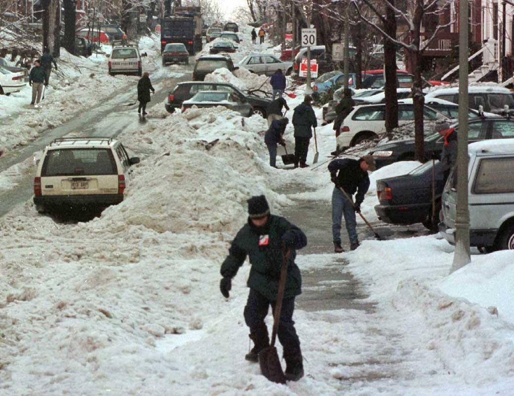 Ice Storm 1998 aftermath