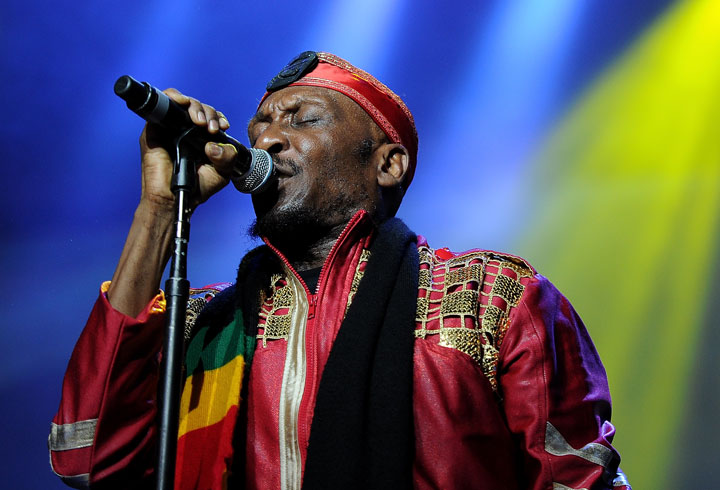 Jimmy Cliff, pictured in July 2013.