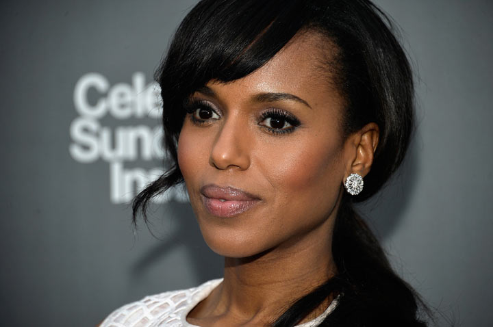 Actress and Vanguard Award presenter Kerry Washington attends the 2013 'Celebrate Sundance Institute' Los Angeles Benefit hosted by Tiffany & Co. at The Lot on June 5, 2013 in West Hollywood, California.