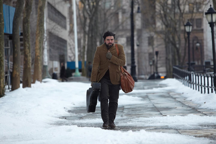 Oscar Isaac in a scene from 'Inside Llewyn Davis.'.