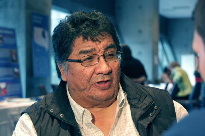 Leo Loone, of the Fort Albany First Nation and an Indian residential school survivor, is seen in Toronto on Friday, June 1, 2012.