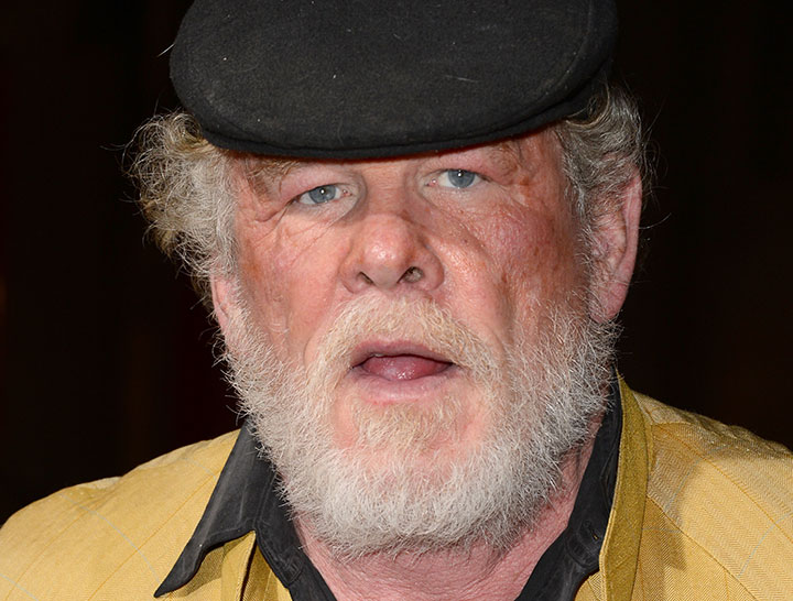 Nick Nolte, pictured in January 2013.
