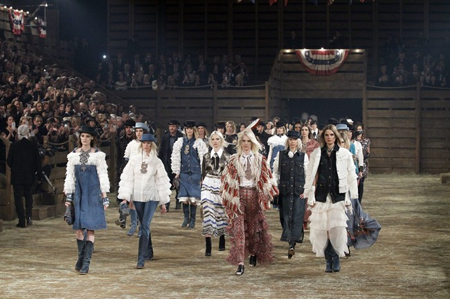 Chanel takes inspiration from American West
