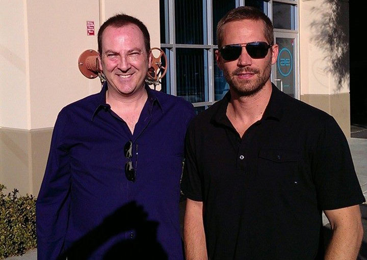 Shortly before his death, Paul Walker, right, posed with Bill Townsend.