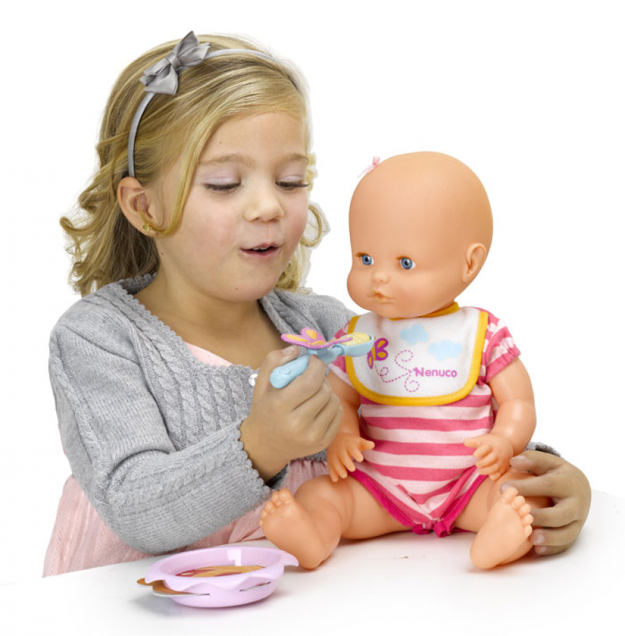 """Critics are outraged after they claim a new toy doll  """"encourages eating disorders"""" and unhealthy eating patterns in children."""
