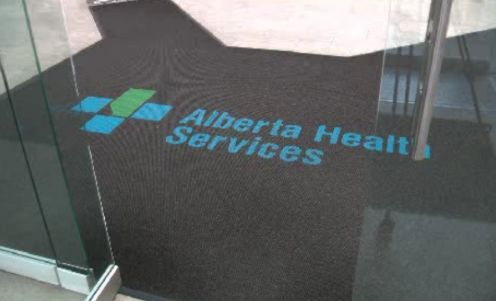 The Alberta Health Services office.