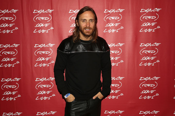 David Guetta, pictured in September 2013.